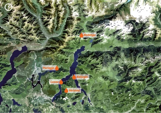 Canyoning Map