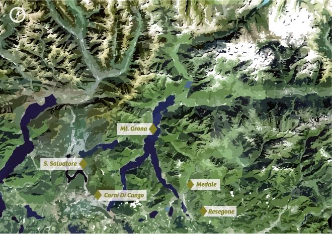 Ferrata Map
